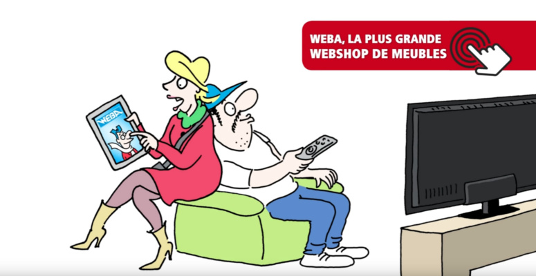 WEBA - nouveau webshop 2017