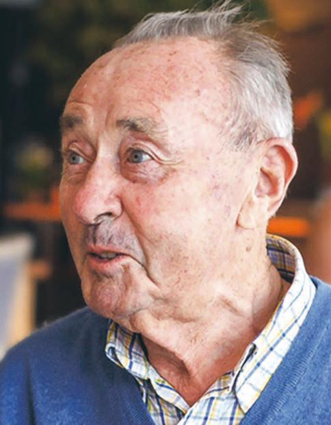 Portret van Raf Dewitte, bezieler van Weba, in Het Laatste Nieuws.