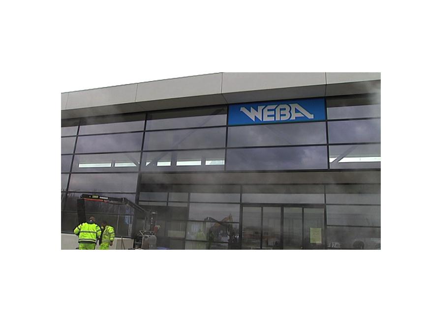 Quaregnon - WEBA se prépare à l'arrivée d'IKEA (telemb.be - 27/03/2015)