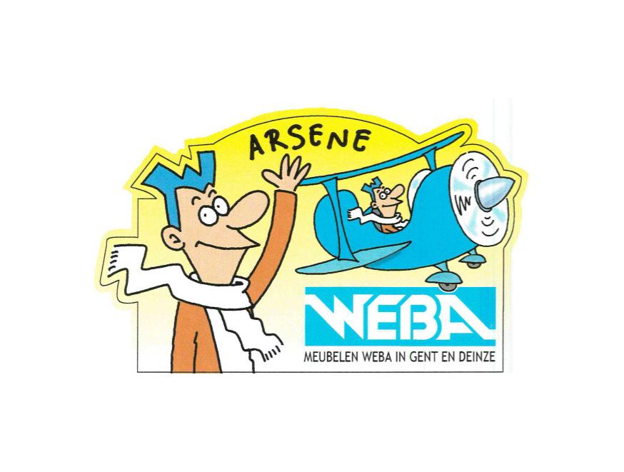 Arsène Weba, een geschiedenis
