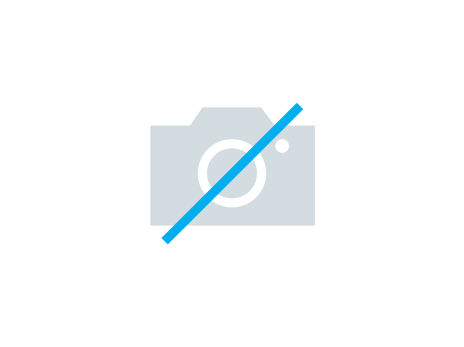 Stoelhoes Butterfly chair 37x40cm grijs