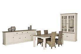 Eetkamer met 4 stoelen Parador
