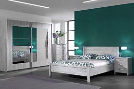 Slaapkamer Alice met bed 180x200cm