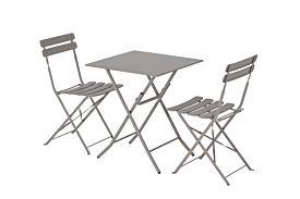 Bistroset Bolt 60x60cm met 2 stoelen Swipe