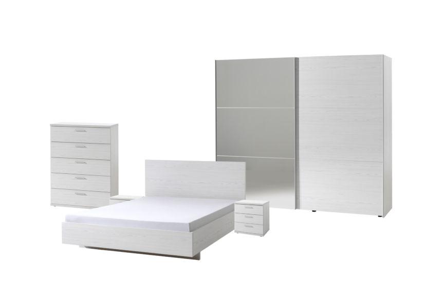 Chambre A Coucher Helga1 Avec Lit 160x200cm Weba Meubles