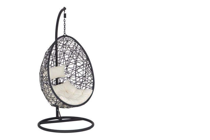 Hangstoel Buiten Ikea.Hangstoel Bird Nest Zwart Weba Meubelen