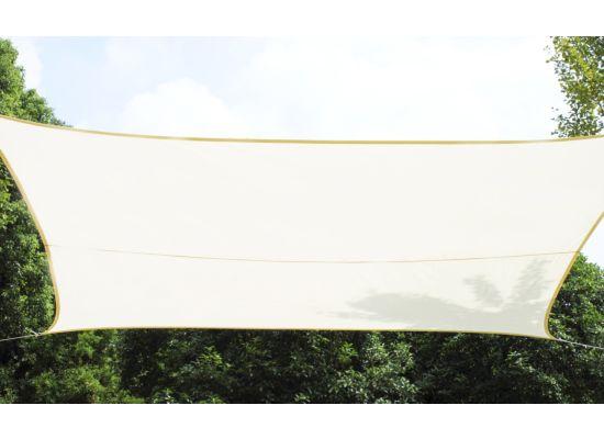 Schaduwdoek  500x500cm crème