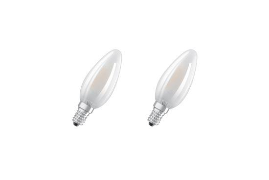 LED-lamp Star 4W E14, set van 2