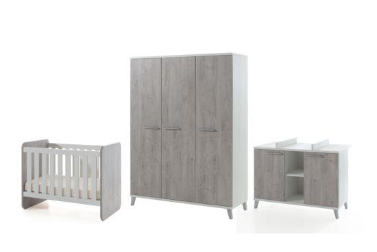 Babykamer Stef met 3-deurs kast