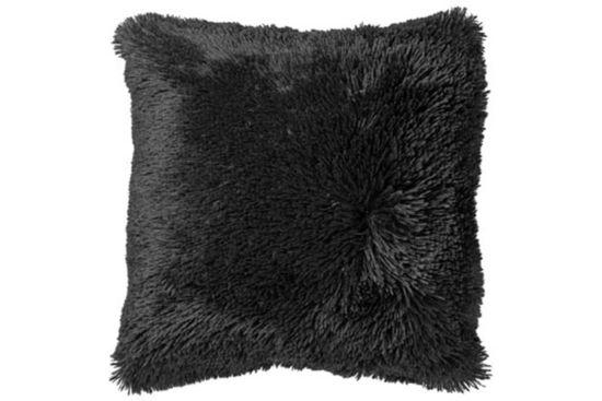 Kussen Fluffy  45x45cm raven