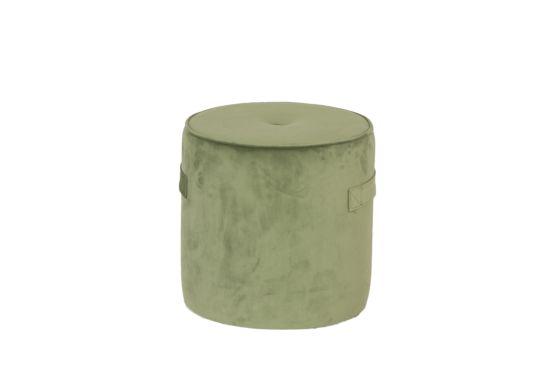 Poef Alpha Ø38cm olive green