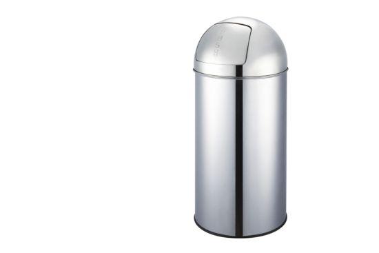 Vuilbak Flagship 50L zilver