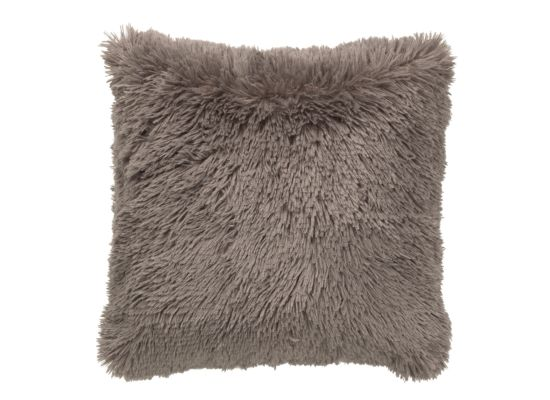 Kussen Fluffy 45x45cm taupe