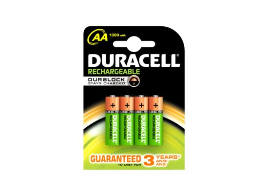 Batterij Duracell AA 1,2V Rechargeable