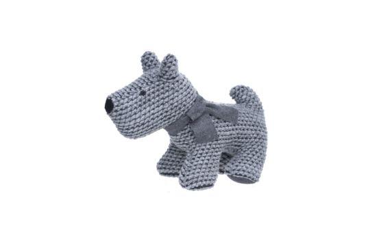 Deurstop Hond grijs