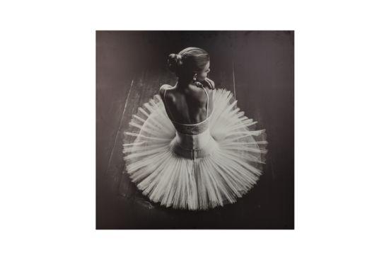 Canvas doek Ballerina 78x78cm