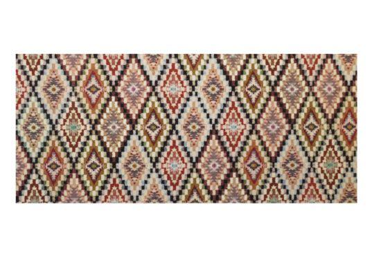Tapijt Deco star - Boho 65x180cm  laagpolig