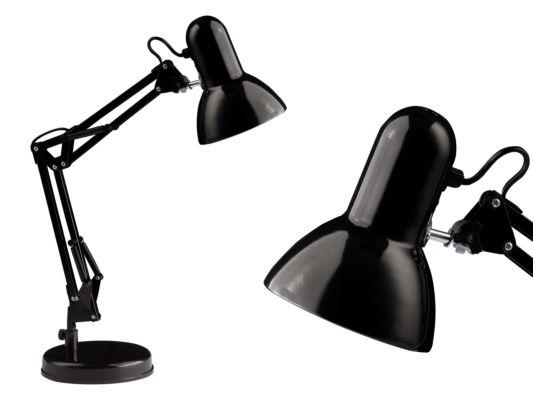 Bureaulamp Henry zwart