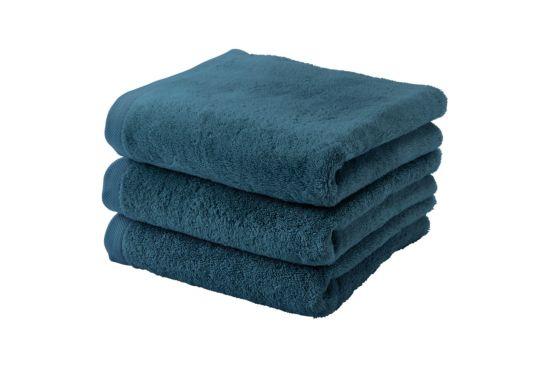 Handdoek London 55x100cm ocean