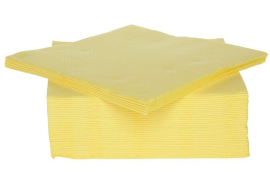 Servet CT Prof 38x38cm geel 40 stuks