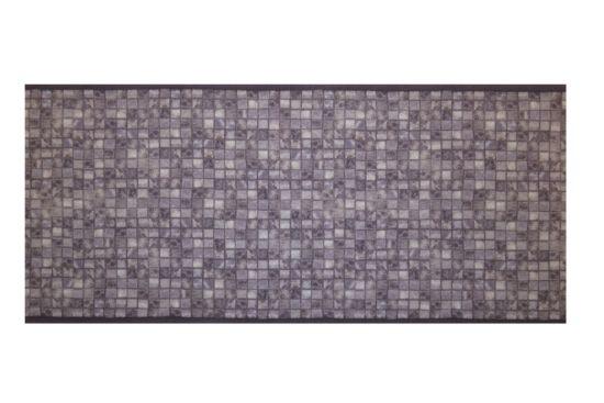 Tapijt Deco star - Mozaïek 65x180cm laagpolig