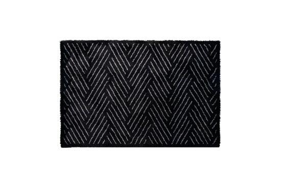 Tafelloper Decosoft 50x75cm zwart wit