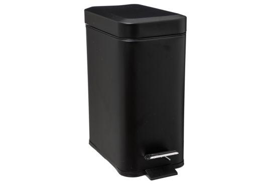 Pedaalemmer 5L mat zwart