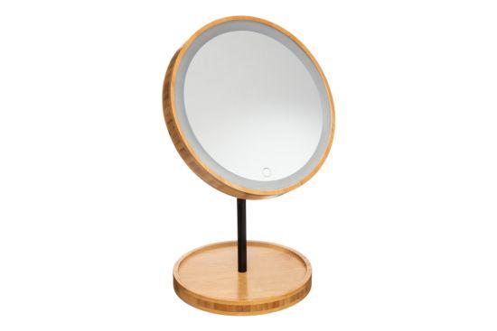 Make-up spiegel Bamboe Ø18cm