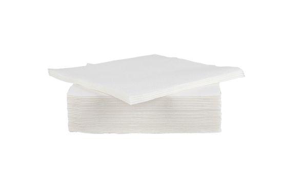 Servet CT Prof 38x38cm wit, 40 stuks