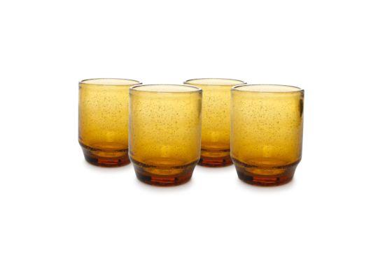 Glas Drip 34cl, set van 4