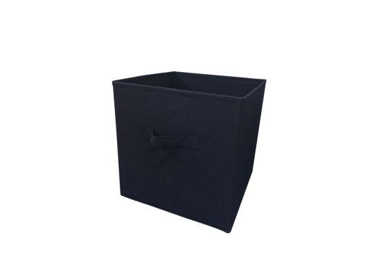 Opbergbox Wow 32x32x32cm navy blauw