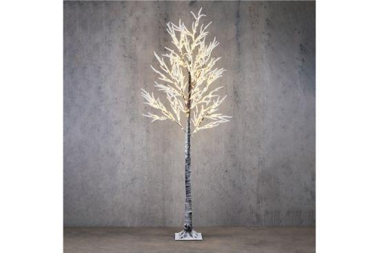 Kerstboom met verlichting classic LED H210cm