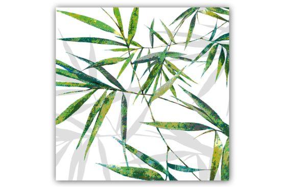 Servet Bamboe 33x33cm groen 20 stuks