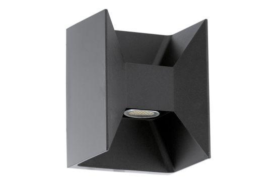 Wandlamp buiten Morino antraciet 2x2,5W
