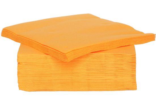 Servet CT Prof 38x38cm oranje, 40 stuks