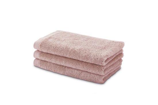 Gastendoekje London 50x30cm dusty pink