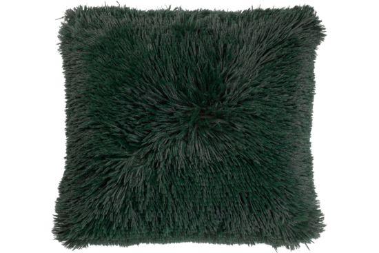Kussen Fluffy  45x45cm groen