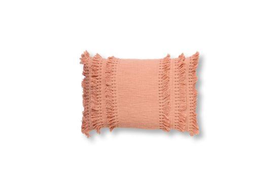 Kussen Fara 60x40cm dusty pink