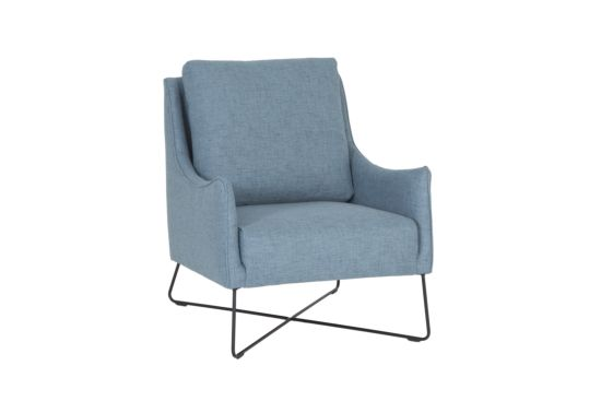 Fauteuil Chill-B stof blauw
