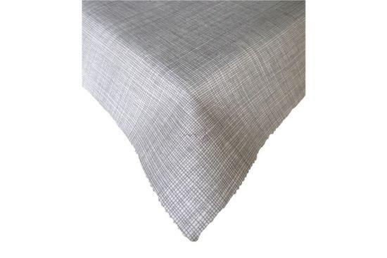 Tafellaken Luxxus Ø160cm grijs