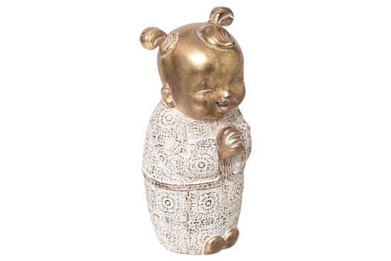 Boeddha beeld Kind H20,5cm