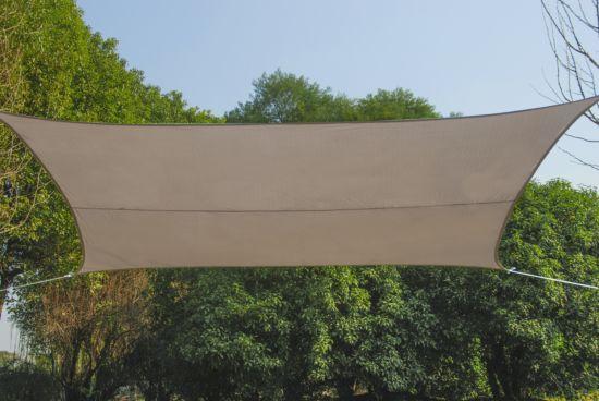 Schaduwdoek 500x500cm taupe