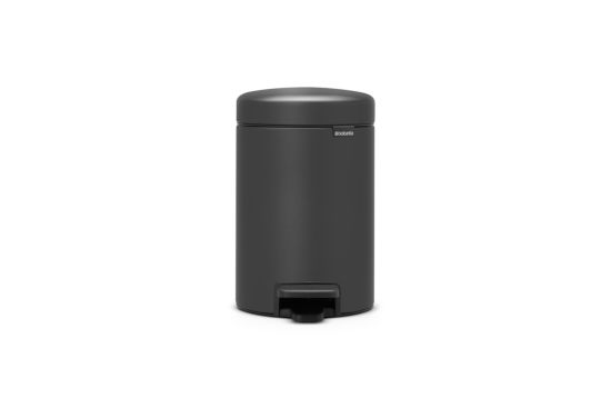Pedaalemmer New Icon  Brabantia 3L grijs