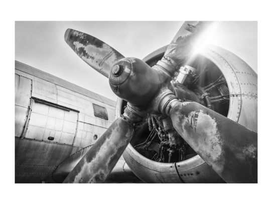 Print op glas Aircraft 100x150cm