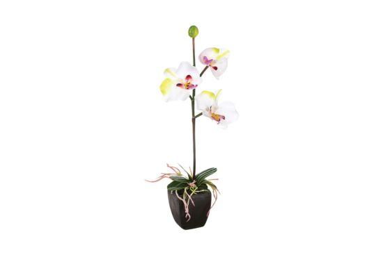Kunstbloem Orchidee H29,5cm