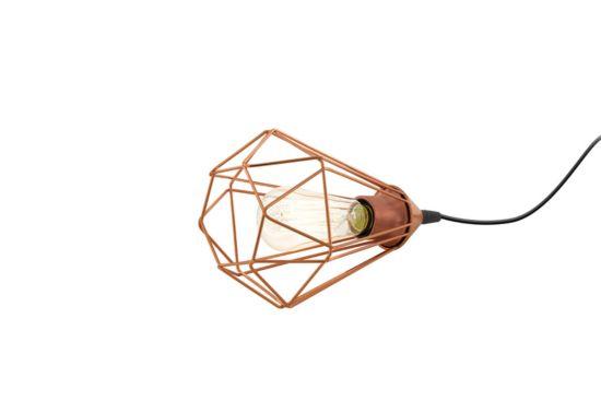 Tafellamp Tarbes E27 Ø17,5xH26,5cm koper