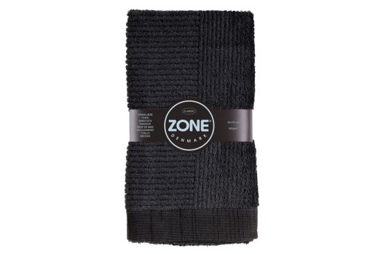 Handdoek 50x100cm zwart
