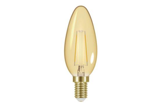 LED-lamp Vintage kaars 2W E14