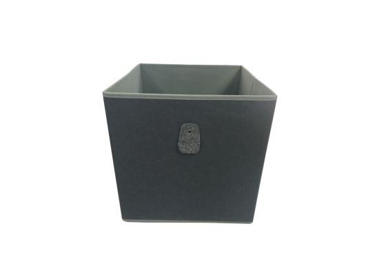 Opbergbox Felt 32x32x32cm grijs