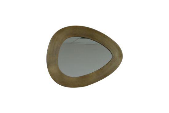 Spiegel Uovo 48x37cm messing